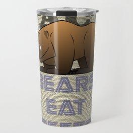 Bears Eat Beets Travel Mug