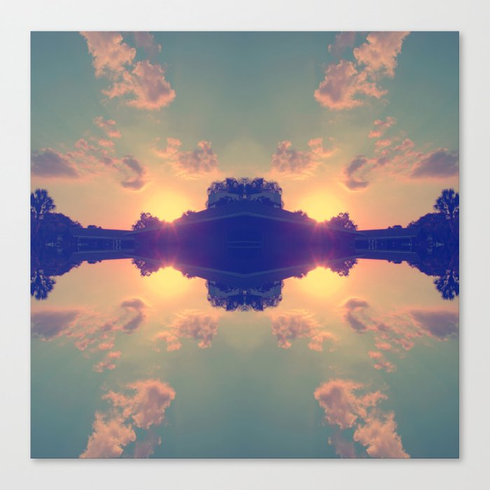 Multiple Sunsets  Canvas Print