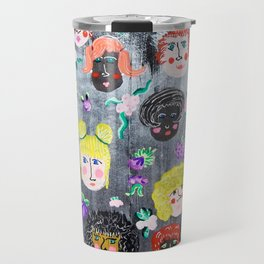 Fearless Faces Travel Mug