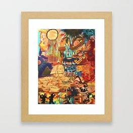 Stolen Goods Framed Art Print