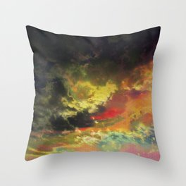 Deleting the Day Throw Pillow