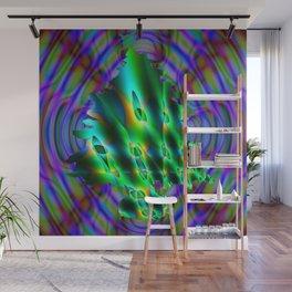 Abstract Xmass Tree Wall Mural