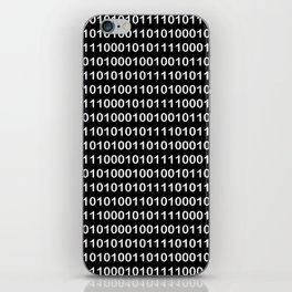 Binary Code in DOS iPhone Skin