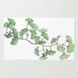 GINKGO, painting by Frank-Joseph Rug