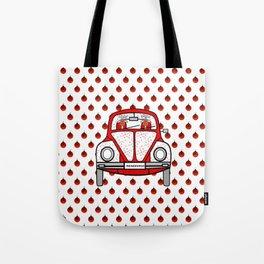 Christmas Transportation Tote Bag