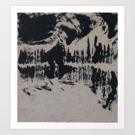 Death Cave Art Print