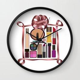 Set of gift make-up Wall Clock