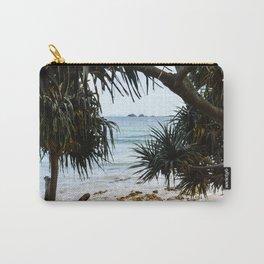 Tropical beach Carry-All Pouch