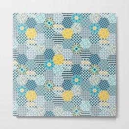 Spanish Tiles of the Alhambra Metal Print