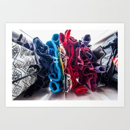 Clothing Art Print