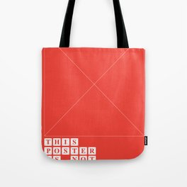 This Poster Is Not Available Tote Bag