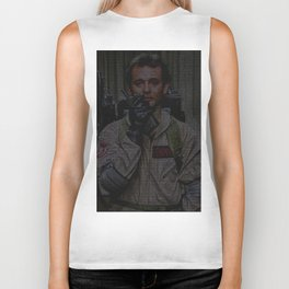 Venkman: Ghostbusters Screenplay Print Biker Tank