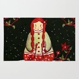 Winter Magic Girl Rug