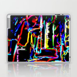 The Wired City Laptop & iPad Skin