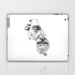 MARCUS AURELIUS ANTONINUS AUGUSTUS / black / white Laptop & iPad Skin