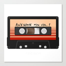 Awesome Mix Vol Canvas Print