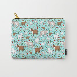 Cute Goats Carry-All Pouch