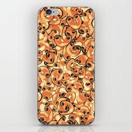 Mac & Cheese Pattern iPhone Skin