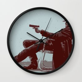 Raylan Givens 5 Wall Clock