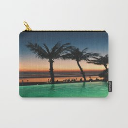 Bali Orange Sunset Carry-All Pouch