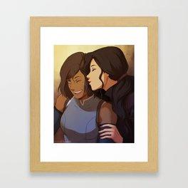 Korrasamiiii Framed Art Print
