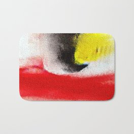 Abstract art. A painting for Tomie Ohtake Bath Mat