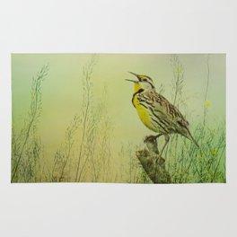The Meadow Lark Sings Rug