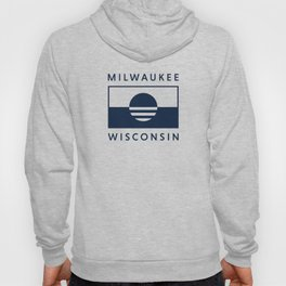 Milwaukee Wisconsin - Navy - People's Flag of Milwaukee Hoody