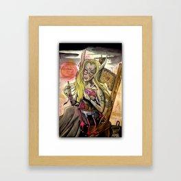 shes a pagan Framed Art Print