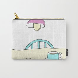 Hot beverage and cookies Carry-All Pouch
