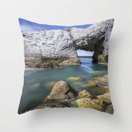 The White Arch  Throw Pillow
