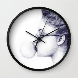 Gum Wall Clock