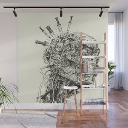 Growing Insanity Wall Mural