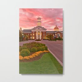 Trible Library CNU at Sunset Metal Print