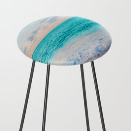 Ocean Bliss #society6 #society6artprint #buyart Counter Stool