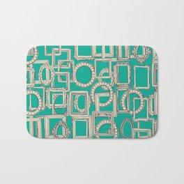 picture frames aplenty indigo jade Bath Mat