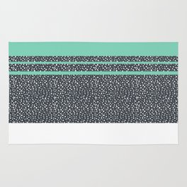 Lucite Green Dots Rug