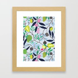 Fruits of Sri Lanka Framed Art Print