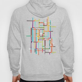 The map (after Mondrian) Hoody