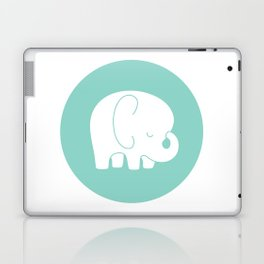 Mod Baby Elephant Teal Laptop & iPad Skin