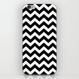 Black Safari Chevron iPhone Skin