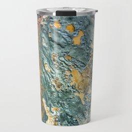 Colorful Abstract Texture Travel Mug