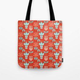 Whirlygig Floral Tote Bag