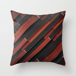 Maniac Pattern Throw Pillow
