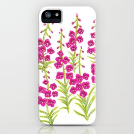 Fireweed iPhone Case