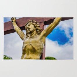 Crucifixion of Jesus Rug