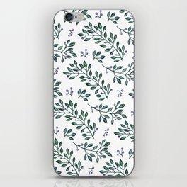 leaves pattern iPhone Skin