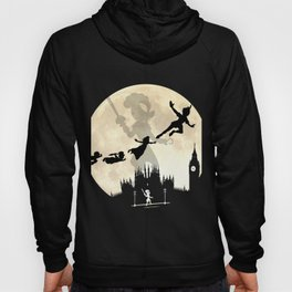 Peter Pan FullMoon Over London Hoody