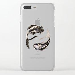 Yin Yang Koi Clear iPhone Case