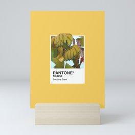 PANTONE SERIES – BANANA TREE Mini Art Print